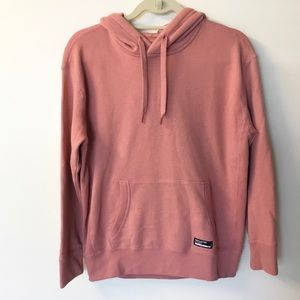 Hollister Pink Oversized Hoodie - XS